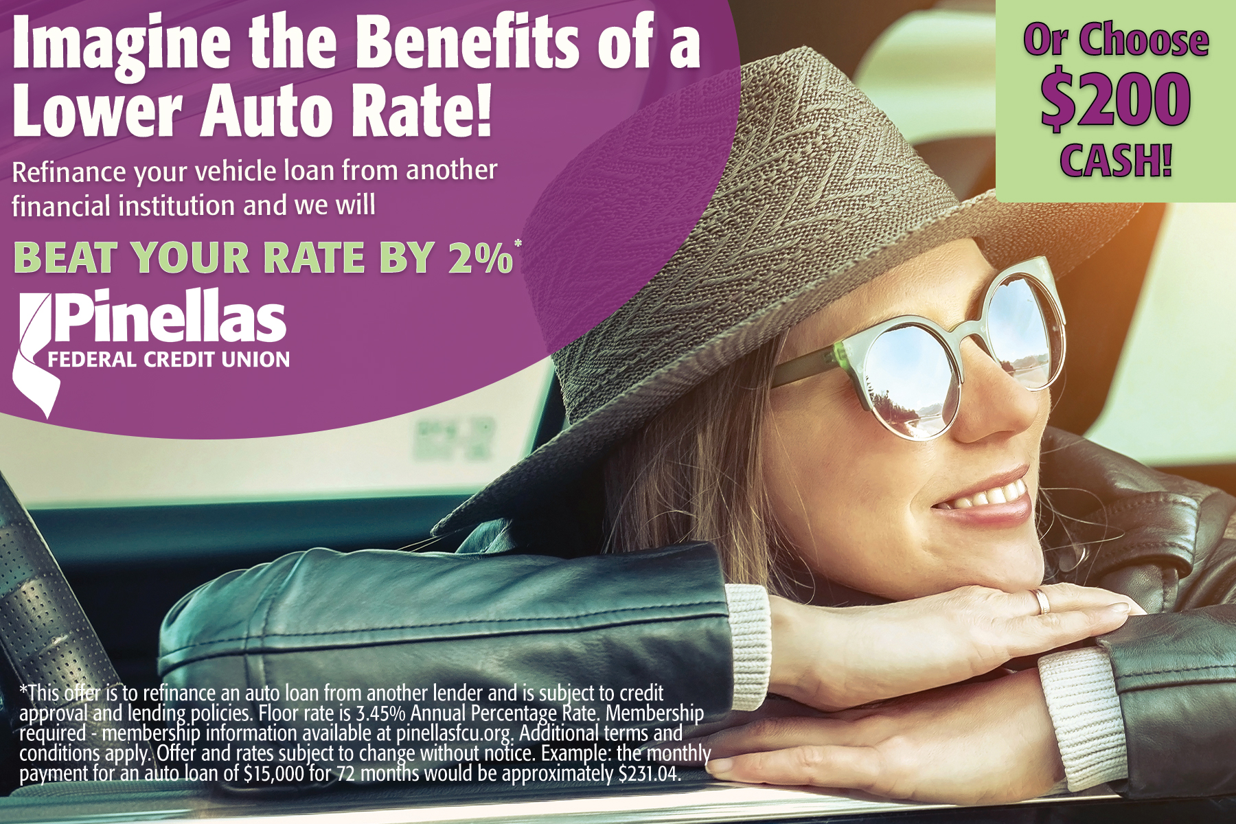 lower auto rate